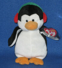 TY SNOWBANK the PENGUIN BEANIE BABY - MINT with MINT TAG