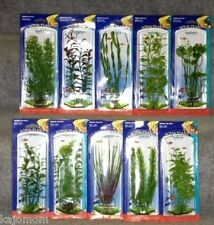 10 PENN PLAX AQUARIUM PLASTIC PLANTS FISH TANK LOT NEW BOXED FRESH SALT WATER