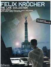 Felix Kröcher The Live Collection DVD LIVE NATURE ONE LIVE LOVE PARADE - TECHNO