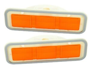 PG Classic 156-LF Mopar 1970-71 Roadrunner GTX  Front Side Marker Lenses