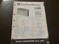 Original Service Manual Schaltplan Sharp GF-6060H/E