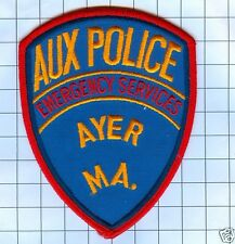 Police Patch - Massachusetts - Ayer Auxilliary Policice Emergency  Service