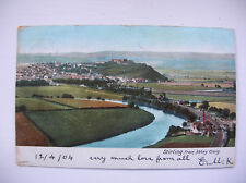 Stirling – from Abbey Craig. (1904 – Frith)