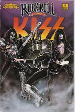 Revolutionary Comics! Rock n Roll Comics! Kiss! Issue 9!