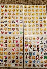 Emoji Pegatinas 42 Pegatinas de álbumes de recortes diario móvil Hazlo tú mismo 1 Hoja = 48 por Pegatinas