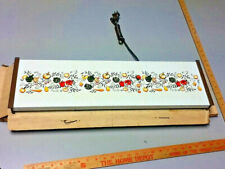 NOS Vintage Electric Hot Food Server with Vegetable Pattern Jasco Products  S42