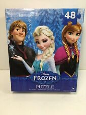 Disney Frozen Jigsaw Puzzles 48 Pieces Elsa Anna Kristoff and Olaf New