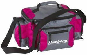 Flambeau Fishing Bag Graphite 400 Pink #G400P w/ (4) 4007B Tuff Tainers
