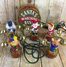 Mr Christmas Holiday Innovation Santa's Marching Band Musical Bell Lots of Songs