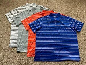 Adidas Puremotion performance golf polo shirt