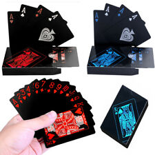More details for waterproof plastic playing cards deck of pvc poker card creative party game gift