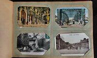 Album mit 28 alten Ansichtskarten aus Frankreich, Luxemburg,Monte, Carlo,Belgien