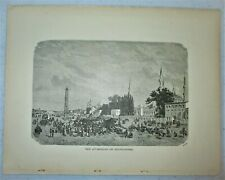 "Orientalism antique art print-""The At-Meidum or Hippodrome"""