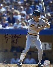 Andy Van Slyke Pittsburgh Pirates Autographed 8x10 Pose 2