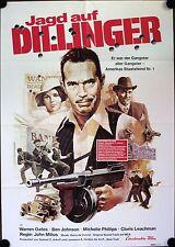 Dillinger German movie poster Jagd auf Dillinger Warren Oates, Ben Johnson