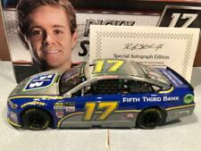 2017 Action Ricky Stenhouse Jr #17 Raw finish 1/24 Autographed Door Number