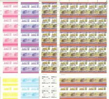 Glyn Valley Tramway (Wales) Train Progressive Proof 50-Stamp Sheets x 8 (Imperf)