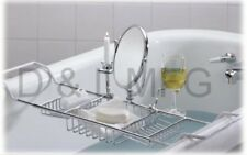 Large Bath Caddy Complete w/ Mirror and  candle holder/PL