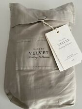 Restoration Hardware Washed Velvet King Sham