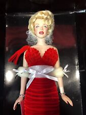 Franklin Mint Marilyn Monroe Vinyl Doll - Star Debut B11G413 Brand New with COA.