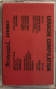 Earache Compilation Cassette 1990 Earache – ICPROCT-0907 PROMO