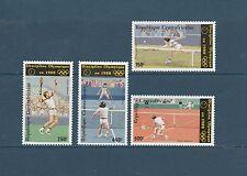 Centrafrique  sport tennis olympique 1986  num: PA  353/56 **
