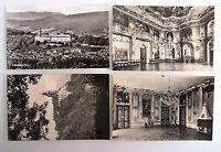 4x DDR Postkarte von RUDOLSTADT Thüringen Ansichtskarten Lot Kleinformat ungel.