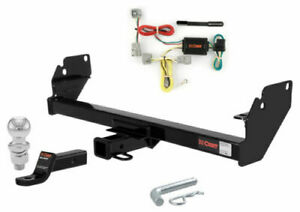 "Curt Class 3 Trailer Hitch Tow Package w/ 2"" Ball for Toyota Tacoma"