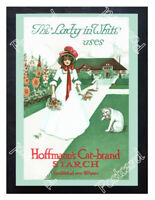 Historic Hoffmann's Cat-Brand Starch Advertising Postcard
