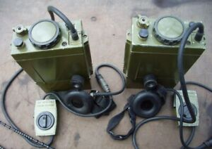 USSR Soviet Russian Military radio stations of airborne troops R-392 (2 pieces)