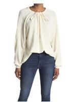 Tibi Merino Wool Ivory Sweater-NWT-Size:S