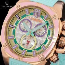 TechnoSport Women's Swiss Quartz Chronograph Silicone Strap Watch TS-100-S37