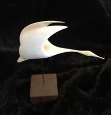 Vintage Robert Dow Reid Bird Sculpture #8129 Canada