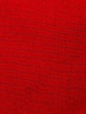 True Red Fine Wale 16 Corduroy Cotton Fabric Material 7/8 Yard (34�) 55�width