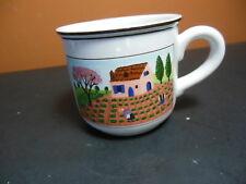 Villeroy and Boch Design Naif Laplau Porcelain Tea Cup Farm Spring Field Scene