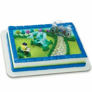 Monsters University - Students Mike and Sully DecoSet Cake Decor -FREE SHIPPING