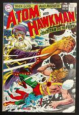 ATOM AND HAWKMAN 1969 #42 GORGEOUS VF+ GLOSSY BEAUTY MAYBE BETTER VISHNU