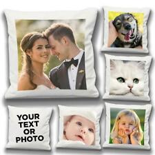 Personalised Photo Pillowcase Cushion Cover Case Custom Lovely Valentines Gift