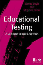Educational Testing: A Competence-Based Approach, Acceptable, Boyle, James, Book