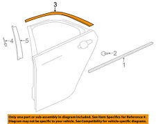 Cadillac GM OEM 13-18 ATS Exterior-Rear-Reveal Molding Right 23181433