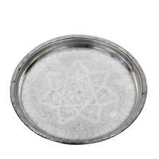 antikes orientalisches TEETABLETT ø 45cm Silbertablett Serviertablett Tablett