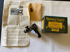 Early Vintage Redfield Micrometer Receiver Sight 70-gt With Target Knobs Blued