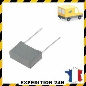 1uf 275v MKP x2 sh r.46 K 275vac 1uf, 1 µf, 1000nf, condensateur Taille : 27.5mm