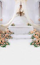 5x7ft backdrop curtain Chandelier flower wedding series Vinyl Background props