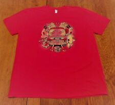 #2208-8 Ralphie May NEW World Tour 2014 Red Graphic T-Shirt 2XL