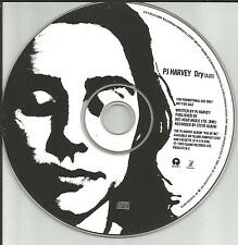 PJ HARVEY Dry 1993 USA PROMO Radio DJ CD Single MINT PRCD 6779