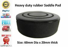 For Your CLARKE Hydraulic Trolley Car Jack Black Rubber Saddle Pad  60mm x 20mm