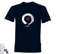 Zen Buddismo meditazione buddha Chán Thiền Seon T-shirt Uomo Nuovi Marine XXXL