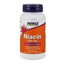 NOW FOODS, NIACIN Vitamin B3 500mg 100 Tabletten SUPER PREIS