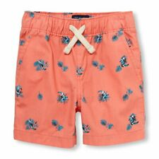 The Children's Place Baby Boys Printed Jogger Short, Jamaican Sunrise, 3T